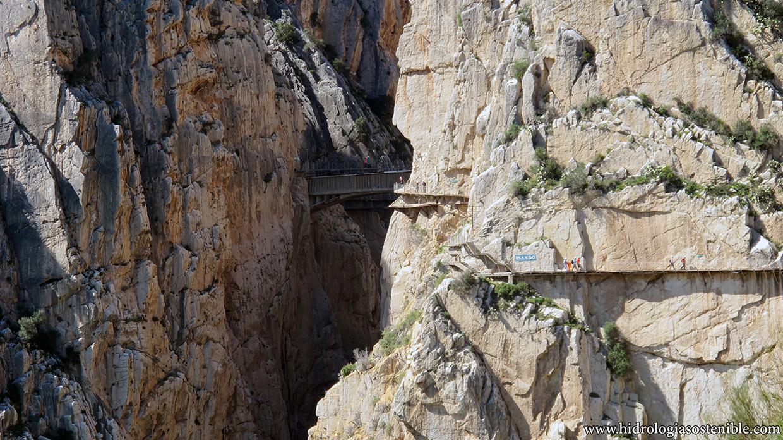 Caminito del Rey pasarela y puente