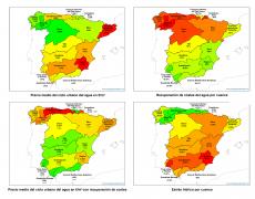 El precio del agua en España en 4 imágenes