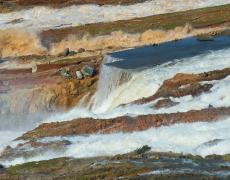 Impresionante fotogalería de la crisis de la presa de Oroville
