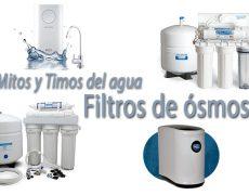 Mitos y timos del agua: Filtros de ósmosis
