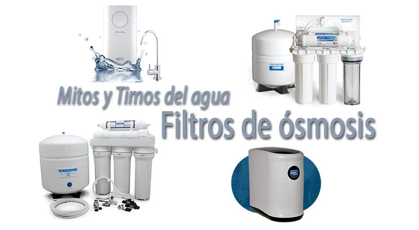Mitos y timos del agua filtros de smosis agua - Agua de osmosis ...